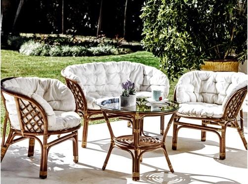 Conjunto de sillones para terraza o jardín