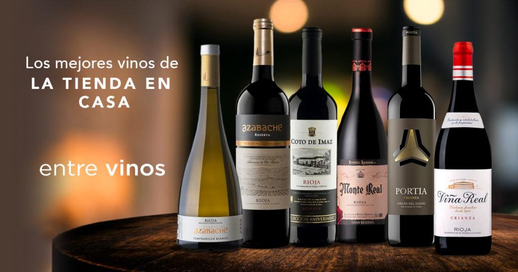 entrevinos es la selección de vinos de La Tienda en Casa