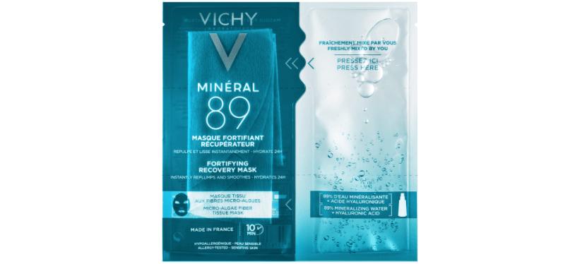 Mantén hidratada la piel con Vichy
